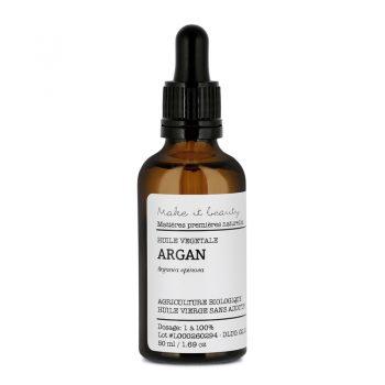 huile vegetale d argan bio make it beauty