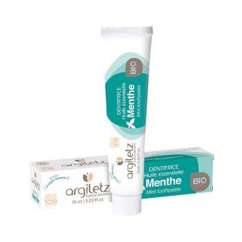 dentifrice a la menthe argiletz