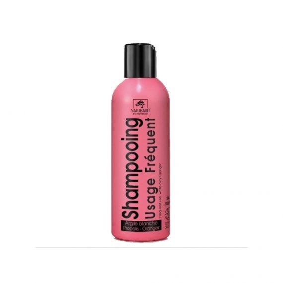 shampoing usage frequent naturado