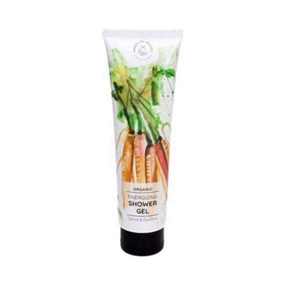 hands on veggies organic energizing shower gel 90 fr