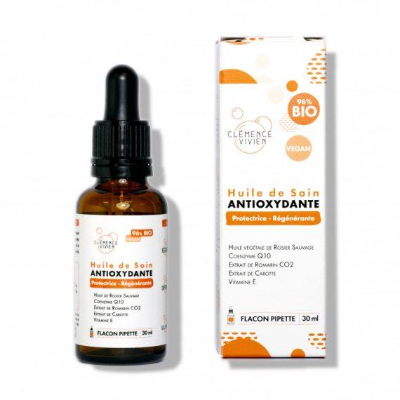 huile de soin protectrice antioxydante.clemence et vivien