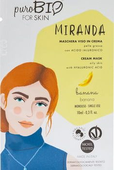 purobio masque Miranda peau grasse banane