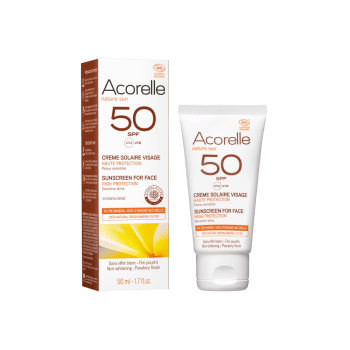 creme solaire visage spf 50 bio 50ml