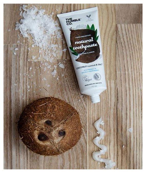 dentifrice naturel noix de coco sel