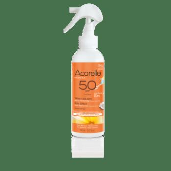 spray solaire enfants bio spf50
