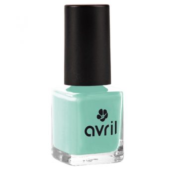vernis a ongles bleu lagon avril box evidence