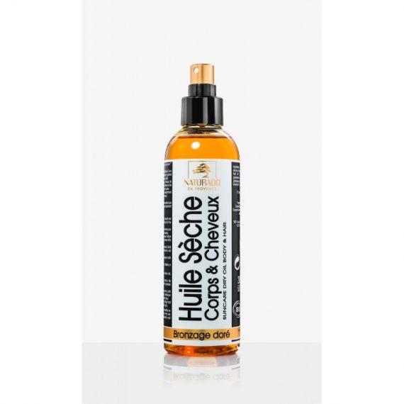 huile seche sublimateur corps et cheveux bio 200 ml