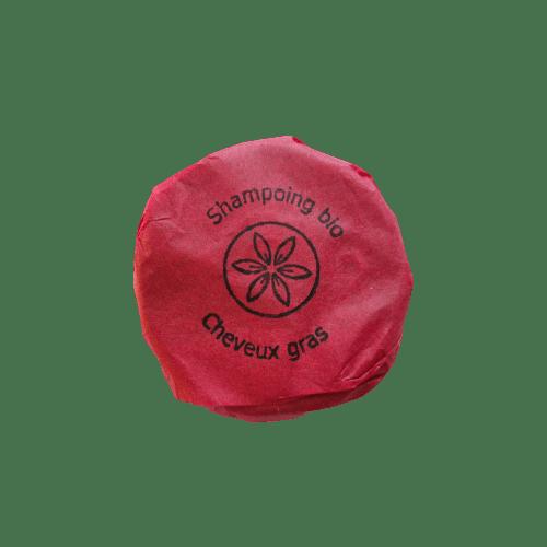 Shampoing Asphodele gras packaging