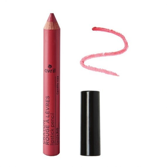 crayon rouge a levres camelia rose avril box evidence