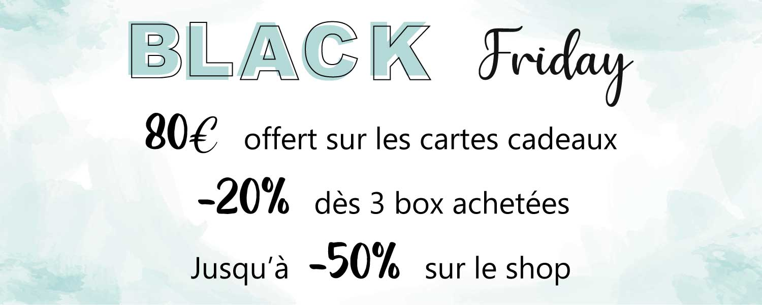 Bandeau black friday page daccueil