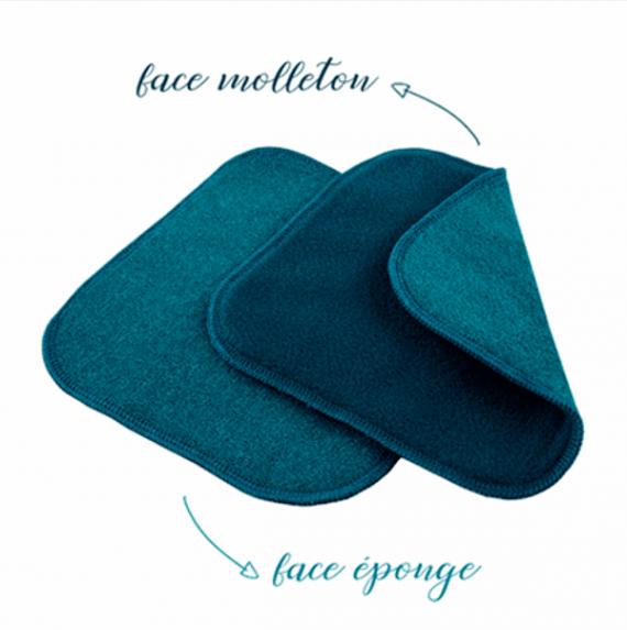 lingettes bebe clarange bleu