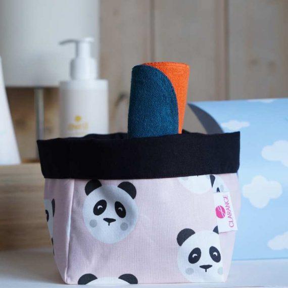 Box lingette bebe panda clarange