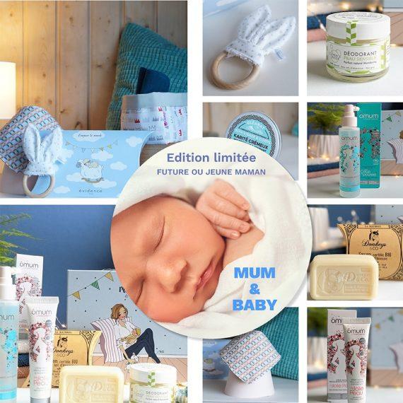 moodboard coffret naissance box evidence