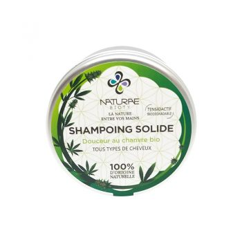 shampoing solide douceur chanvre naturae bioty