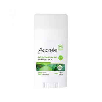 deodorant bio citron et mandarine verte acorelle box evidence