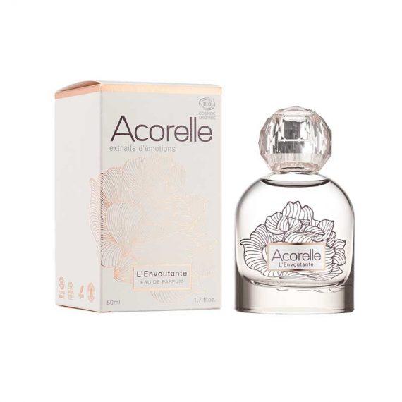 eau de parfum bio femme lenvoutante acorelle box evidence