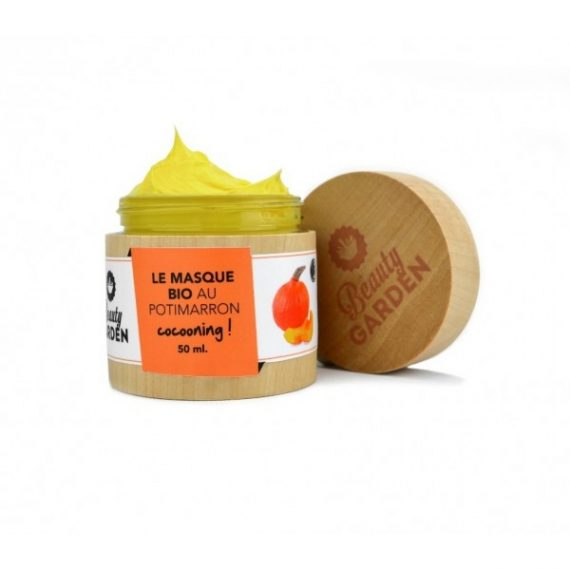 masque bio potimarron beauty garden
