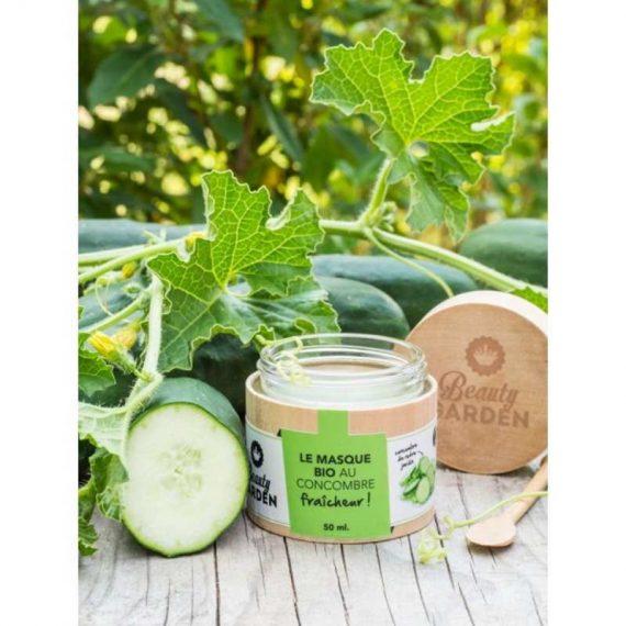 masque fraicheur concombre beauty garden swatch