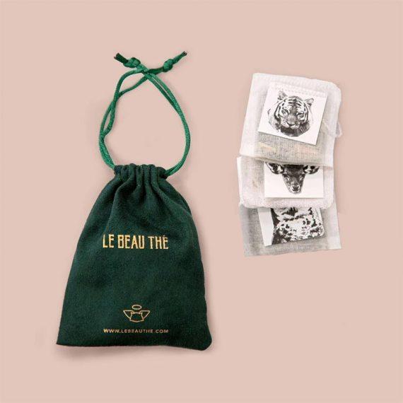 kit degustation 3 thes le beau the box evidence