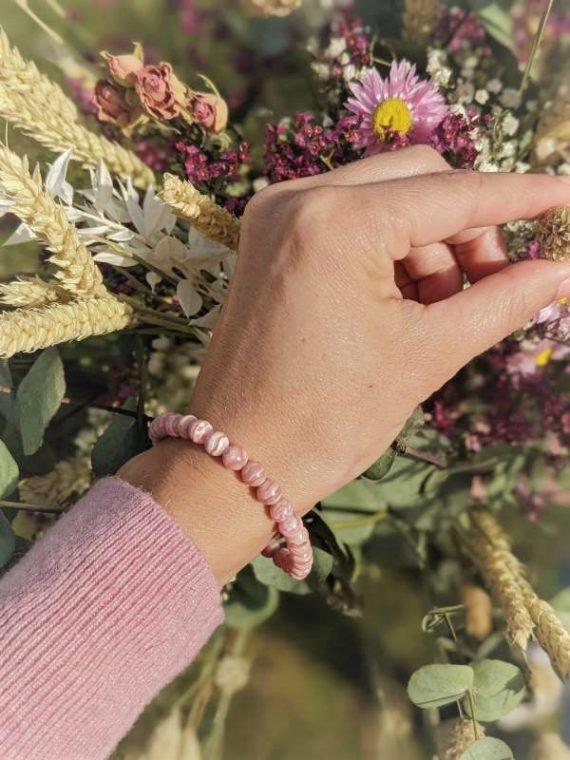 Rhodochrosite-Box-evidence-bracelet