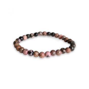 bracelet rhodonite zebree box evidence
