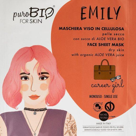 masque emily peau seche career girl purobio box evidence