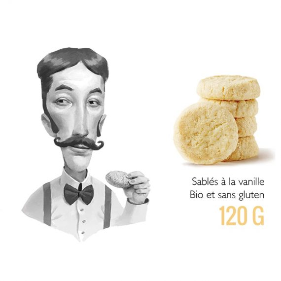 biscuits sables vanille generous box evidence