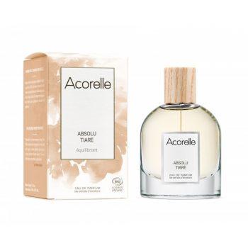 eau de parfum absolu tiare bio acorelle box evidence