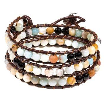 bracelet amazone agate noire box evidence