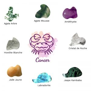 lithotherapie les pierres du signe astro cancer