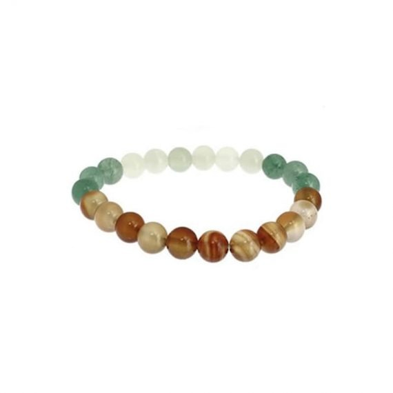 bracelet cancer aventurine verte cornaline jade de chine box evidence
