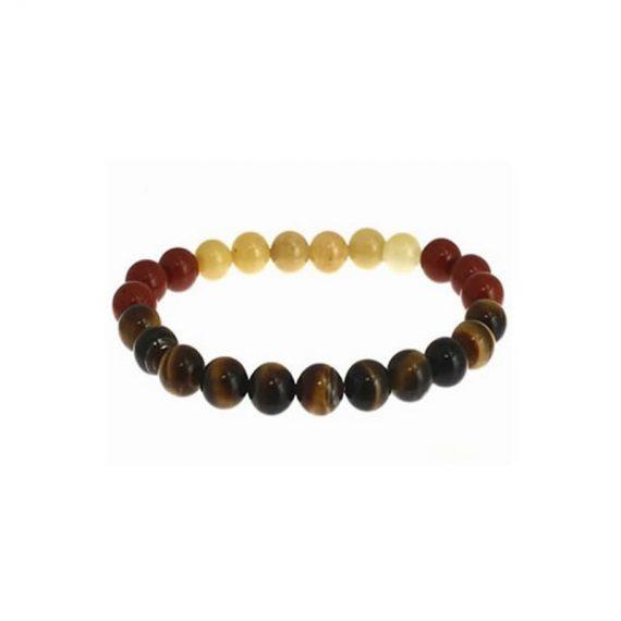 bracelet lion aventurine jaune jaspe rouge oeil de tigre box evidence