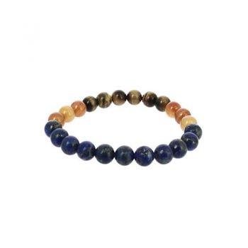 bracelet vierge cornaline lapis lazuli oeil de tigre box evidence