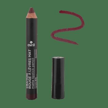 crayon a levres mat bordeaux