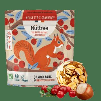 energy balls noisette cranberry