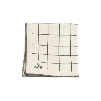furoshiki carreaux 52x52 en coton bio